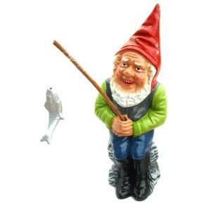 Idée de cadeau original secteur pêche : Gustave le pêcheur