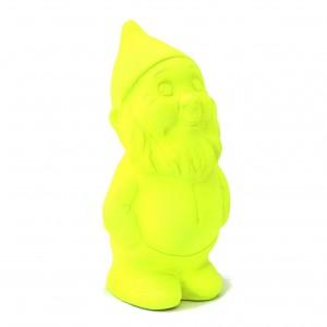 Idée déco design : Martin le coquin, uni jaune fluo