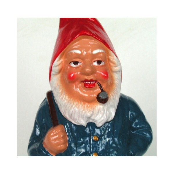 Cadeau kitch nain de jardin horst mains sous la barbe - Nain de jardin en terre cuite ...