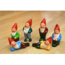 6 nains miniatures
