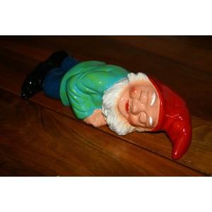 Chut,  Hector fait la sieste ! (nain de jardin dormeur)