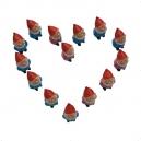Carte postale coeur de nains